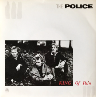 "Police (The) ‎- King Of Pain (7"") (EX/VG+)"